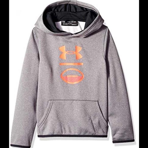 8ca1e08e12ec Boys UA sports logo hoodie. NWT. Under Armour